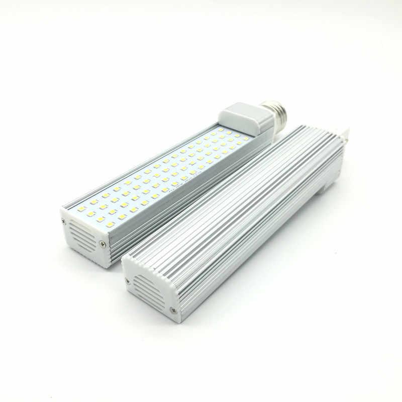 G24 LED נורות 7W 9W 11W 13W 15W 18W E27 LED תירס מנורת הנורה אור SMD 2835 זרקור 180 תואר AC85-265V אופקי Plug אור