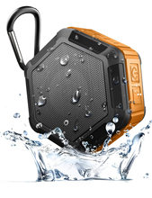 Subwoofer Speaker Outdoor Hexagon Waterproof Bluetooth Player Portable Stereo Wireless Bike Cycling Speaker With Mike(China)