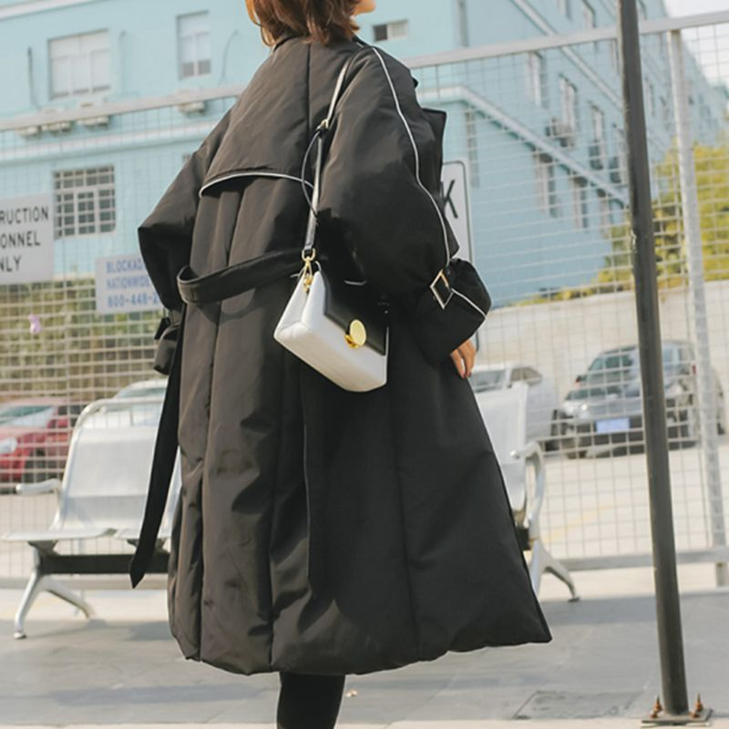 Coton Chaud Veste Épais Ly203 Manteau Parkas Black Haute Moyen Femmes Hiver 2018 Dames Mode Qualité Long Mince Nouveau Survêtement 80q5EwEBn