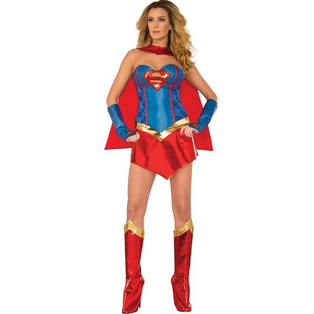 2015 New Arrivals Hottest Sale Hero Halloween Movies Cosplay Wonder Girl Costume Deluxe Sexy Supergirl Costume  sc 1 st  AliExpress.com & 2015 New Arrivals Hottest Sale Hero Halloween Movies Cosplay Wonder ...