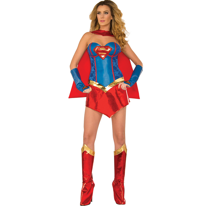Popular Sexy Supergirl Costume-Buy Cheap Sexy Supergirl Costume Lots From China Sexy Supergirl Costume Suppliers On Aliexpresscom-6269