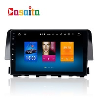 Car 2 Din Android GPS For Honda Civic 10 Autoradio Navigation Head Unit Multimedia Radio Browser