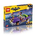 New 433Pcs Lepin 07046 Genuine Batman Movie Series The Joker`s Lowrider Set Building Blocks Bricks with legoe 70906