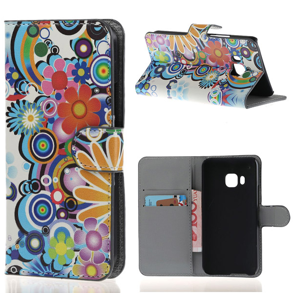 Sunflower Colorful Printing PU Leather Flip Wallet Stand Pouch font b Cover b font font b