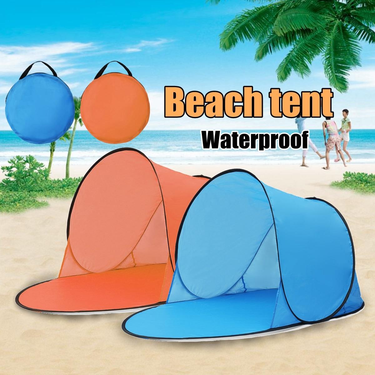 Esterno Portatile di Campeggio Impermeabile Tenda Della Spiaggia Tenda Pop Up Tenda Da Campeggio Aperto Pesca Escursioni Outdoor Automatico Portatile Istantanea