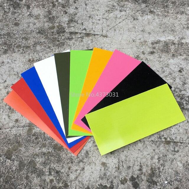 180*80*1mm de fibra de vidrio G10 para DIY cuchillo material del espaciador haciendo G10 Material cuchillo vástago material de los accesorios: 10 colores