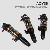 Original DNM AOY-36RC XC / Trail 165 190 200mm rear shock air suspension for DH mtb bicycle soft tail rear suspension