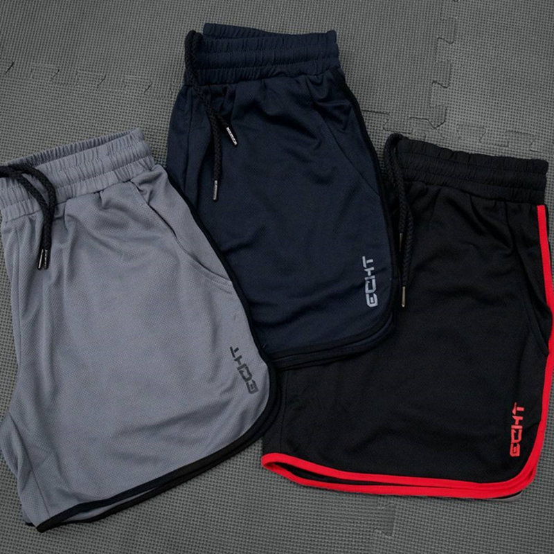 Mens Breathable Mesh Cool Shorts Summer Beach Short Pants Male Gyms Fitness Workout Bodybuilding Jogger Crossfit Slim Sportswear 4