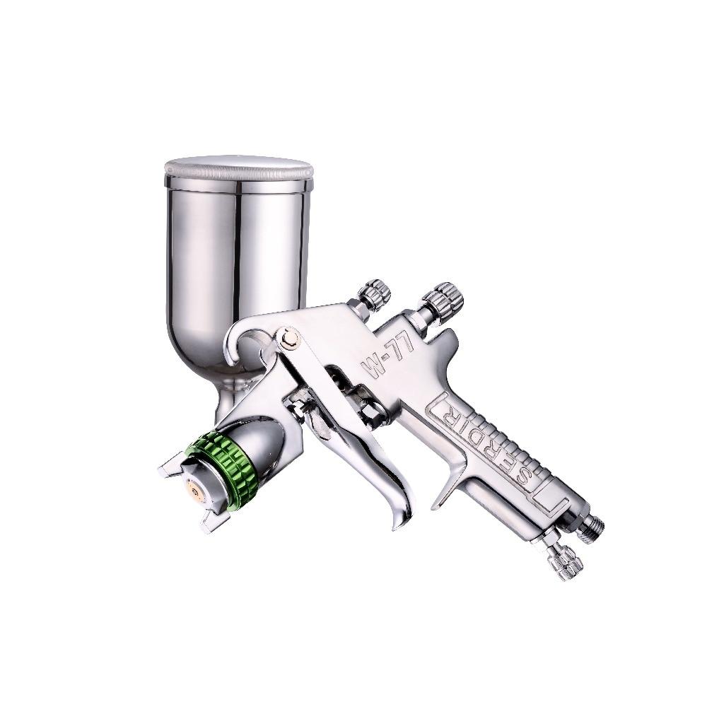 Gravity W-77 Spray Gun 2.0 / 2.5 / 3.0mm Hand Sprayer Car Painting Furniture Spray Gun
