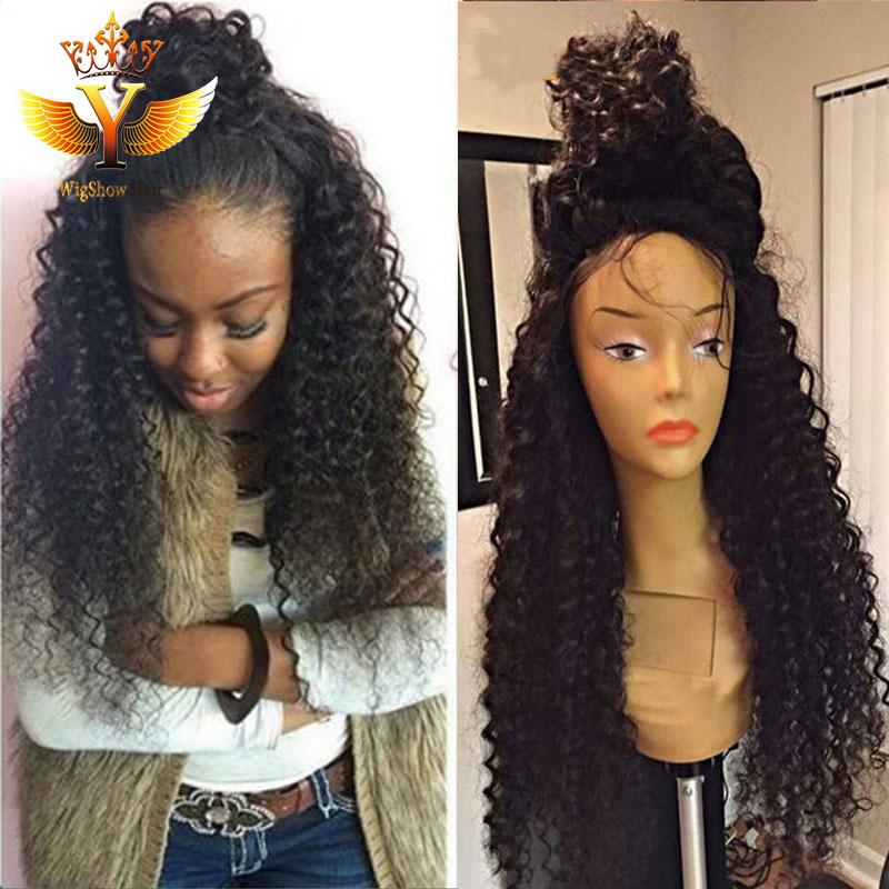 7A Malaysian Curly Wig Afro Kinky Curly Malaysian Human ...