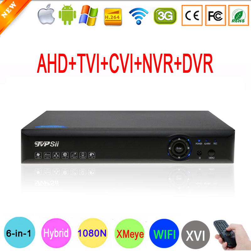 Blue-Ray Hi3521A 1080N 16 Channel 16CH Surveillance Video Record 6 in 1 Wifi Hybrid Coaxial XVI NVR CVi TVi AHD DVR FreeShippingBlue-Ray Hi3521A 1080N 16 Channel 16CH Surveillance Video Record 6 in 1 Wifi Hybrid Coaxial XVI NVR CVi TVi AHD DVR FreeShipping