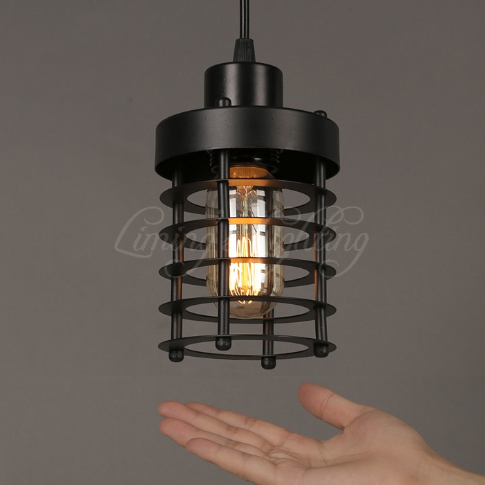 Modern Vintage Loft Adjustable Metal pendant Light retro Cafe brass cage wall  lamp country style Sconce Lamp Fixtures Dia 100mm - Corded Wall Sconce Reviews - Online Shopping Corded Wall Sconce