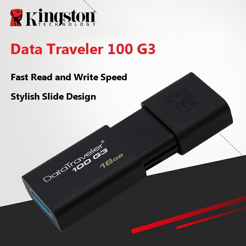 Kingston USB Flash Drives  16GB 32GB 64GB 128GB 256GB USB 3.0 Pen Drivehighspeed