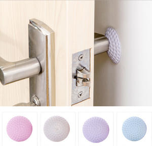 1 Pcs Self Adhesive Wall Protectors Door Handle Bumpers Buffer Guard Stoppers Silencer