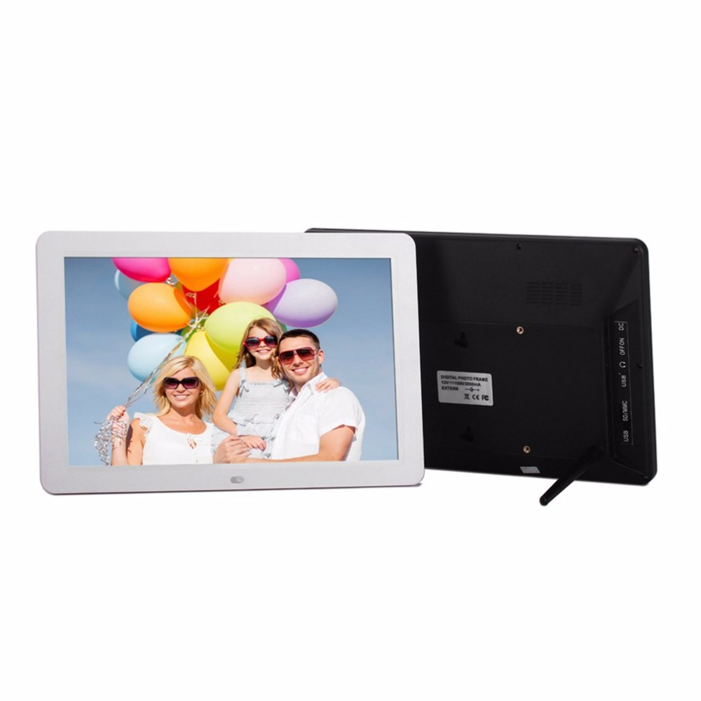 Multifunctional 12 LCD Digital Photo Frame 1280*800 High Resolution Picture Frame With Wireless Remote control Built-in Speaker chunghop rm l7 multifunctional learning remote control silver