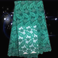 ZKN13 Fahionable Design African Net Lace With Stones Free Shipping Swiss Voile Lace Fabric In Stock