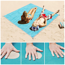 Горячая 200×150 см песок Бесплатная коврик туристический коврик открытый складной Пикник матрас пляж коврик ПВХ пляж подушки открытый спортивные аксессуары