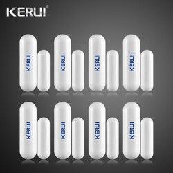 KERUI Wireless Door Gap Window Magnetic Sensor Detector Door Open Reminder 433MHz For Home Security Alarm System