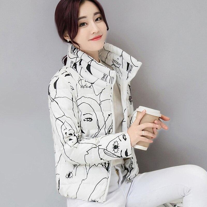 ФОТО Manteau Femme Parkas For Women Winter Female Winter Jacket 2017 Ukraine Parka Warm Coat Doudoune Femme Cheap Korean Jackets New