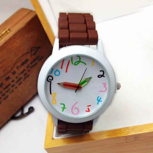 9s & cheap Unisex Silicone Quartz Sports Style Watch Women Jelly Wrist Watch Hig