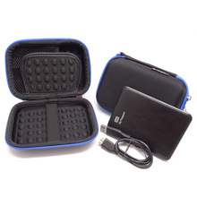 Waterproof Electronics Gadget Storage Bag Travel Digital Accessories Organizer Pouch for HDD Power Bank Charger USB