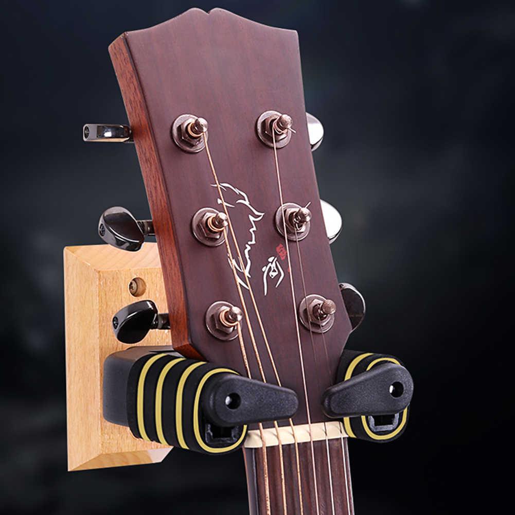 Настенные аксессуары подставка с автоматическим замком вешалка для гитары бас