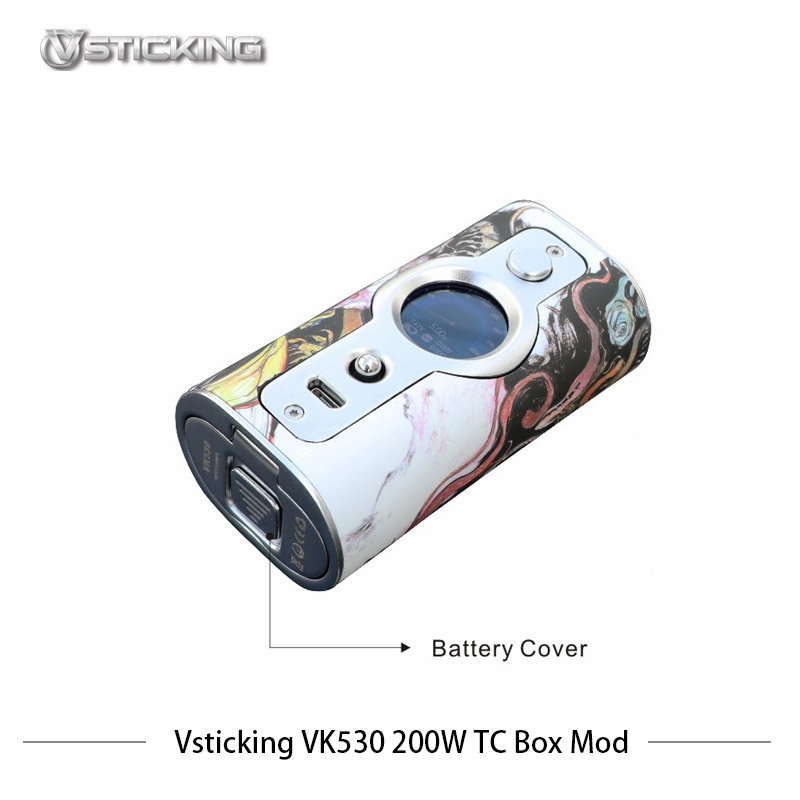 Cigarettes électroniques Mod Vsticking VK530 200 W Boîte Mod Vaporisateur Max 200 w avec YiHi TC SX530 puce de contrôle de la température vaporisateur - 5