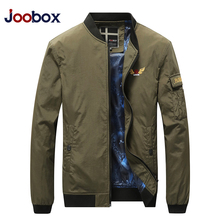 Dropshipping Men Casual Autumn Stand Collar Embroidery Army Green jackets