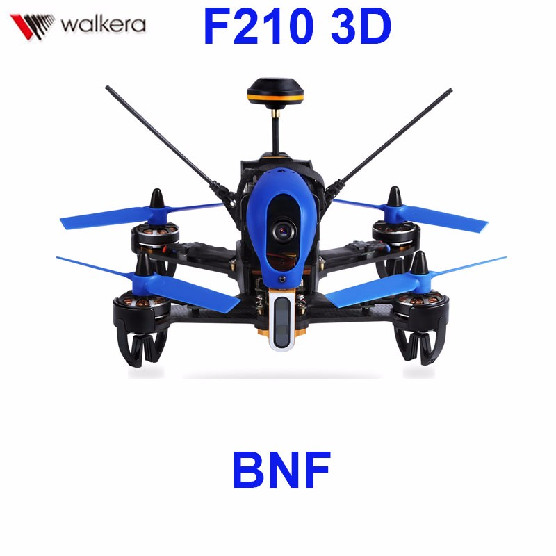 Original Walkera F210 3D Racer Without Transmitter Racing Drone Quadcopter with OSD / 700TVL Camera BNF F18851 walkera f210 3d edition bnf version without remote controller rc racing drone quadcopter with osd 700tvl camera
