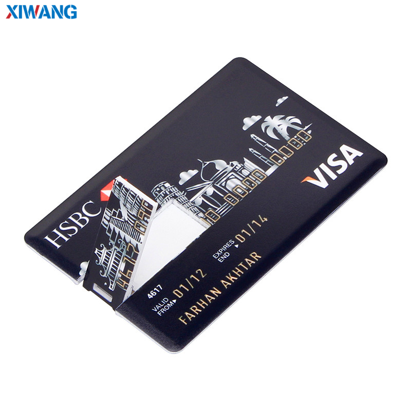 Image 5 - XIWANG hot sale USB Flash Drive credit card 128GB 64GB 32GB 16GB 8GB 4GB USB 2.0 Pen drive Pendriv portable HSBC cards best gift-in USB Flash Drives from Computer & Office