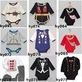 Nova marca Do Bebê Bodysuits Venda Quente Meninos de Manga Longa Bodysuit 100% Algodão roupas de bebê corpo bebe ropa