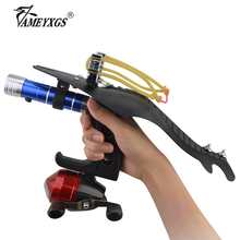 Archery Fishing Catapult Professories Shooting Device Sling Slingshot Kit For Outdoor Hunting Accessories