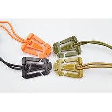 Web Dominator Molle Backpack Carabiner EDC Tool Elastic Rope Webbing Buckle Winder Flashlight Carry Sling