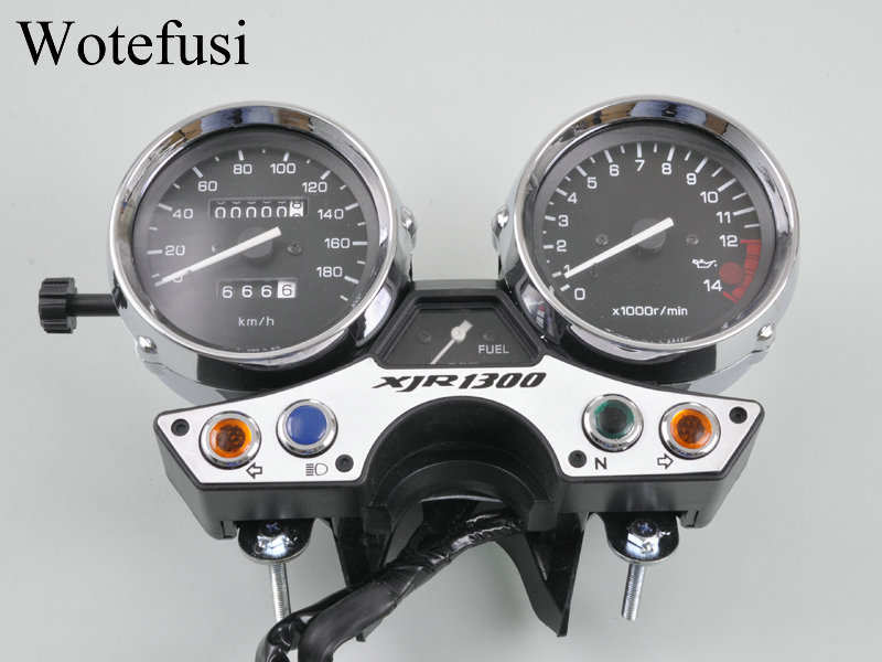 popular yamaha xjr1300 speedometer buy cheap yamaha xjr1300 wotefusi speedometer tachometer meter gauge for racing version yamaha xjr1300 89 90 91 92 93 94