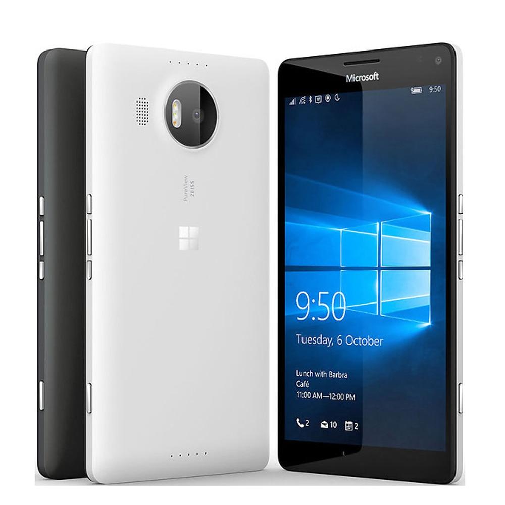 "Original New EU Version Nokia Microsoft lumia 950 XL Rm-1085 Single SIM 4G 5.7"" Snapdragon 810 Octa Core 3GB 32GB Mobile Phone"
