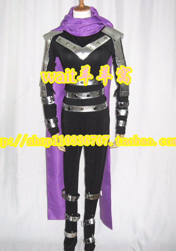 2017 One Punch Man Speed-o'-Sound Sonic Onsoku no Sonikku Cosplay Costume