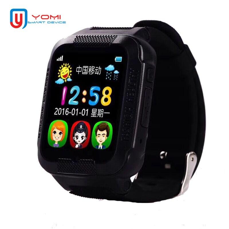 Montre intelligente enfant pour IOS Android GPS Beidou LBS Locationing Smartwatch Support tf-carte WhatsAPP lecteur de musique Smartwatch pour enfant