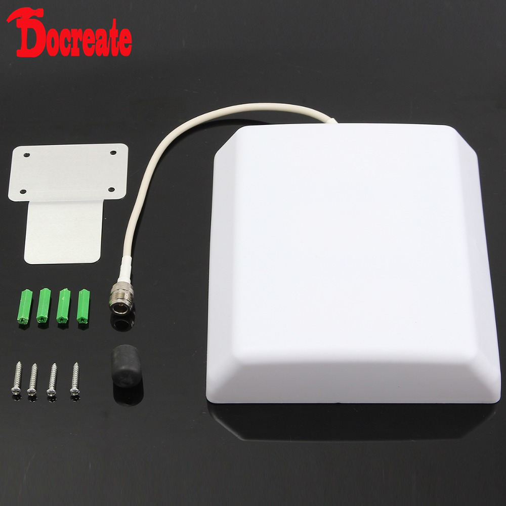 GSM CDMA Antenna Panel Mobile Cell Phone Signal Repeater Booster Indoor 3g wcdma 2100mhz dual band mobile phone signal amplifier signal repeater booster