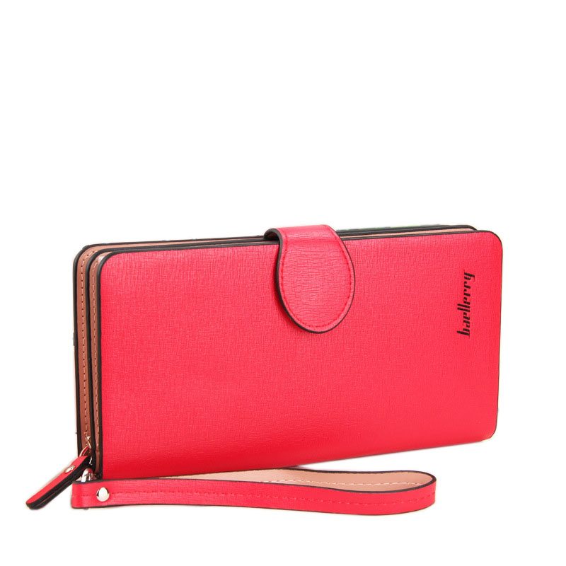 2016 Hot Sale Fashion Women Wallets 6 Colors Matte PU Leather Zipper Soft Wallet Ladies Long Clutch Purse phone bag Card Holder hot sale women wallets fashion genuine leather women wallet knitting zipper women s wallet long women clutch purse
