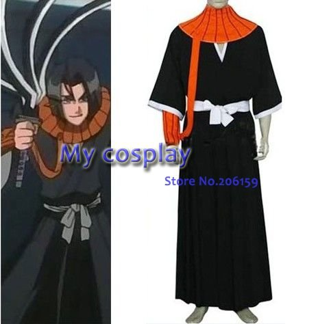 anime bleach cosplay bleach ayasegawa yumichika hombres cosplay de mejor disfraz para halloween cosplay