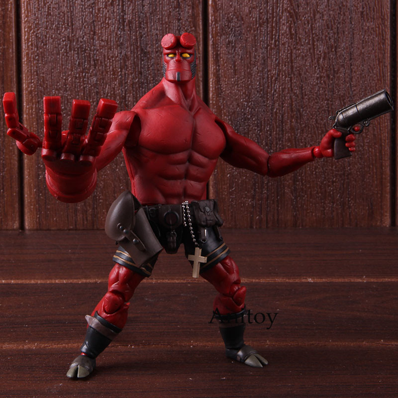 Hellboy Movie Figurine 1/2 Scale Figure Hellboy 1000 Toys Dark Horse Comics Action Figure Collectible Model ToyHellboy Movie Figurine 1/2 Scale Figure Hellboy 1000 Toys Dark Horse Comics Action Figure Collectible Model Toy