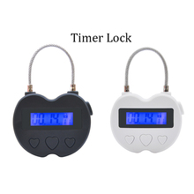 Time Lock Fetish Handcuffs Mouth Gag Electronic Timer Bdsm Bondage Restraints Chastity Couples Toys Adult Game