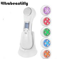 Fat Burn Weight Loss Cellulite Reduction Ultrasonic Bio Photon Microcurrent Face Lift Body Slimming Massager Machine