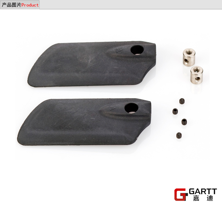 (5 PIECES/LOT) GARTT GT550 Flybar Paddles / Stabilize Blade 100% fits Align Trex 550 RC Helicopter Big Sale