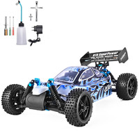 HSP RC Car 1:10 Scale 4wd Two Speed Off Road Buggy Nitro Gas Power Remote Control Car 94106 Warhead High Speed Hobby RC Toys