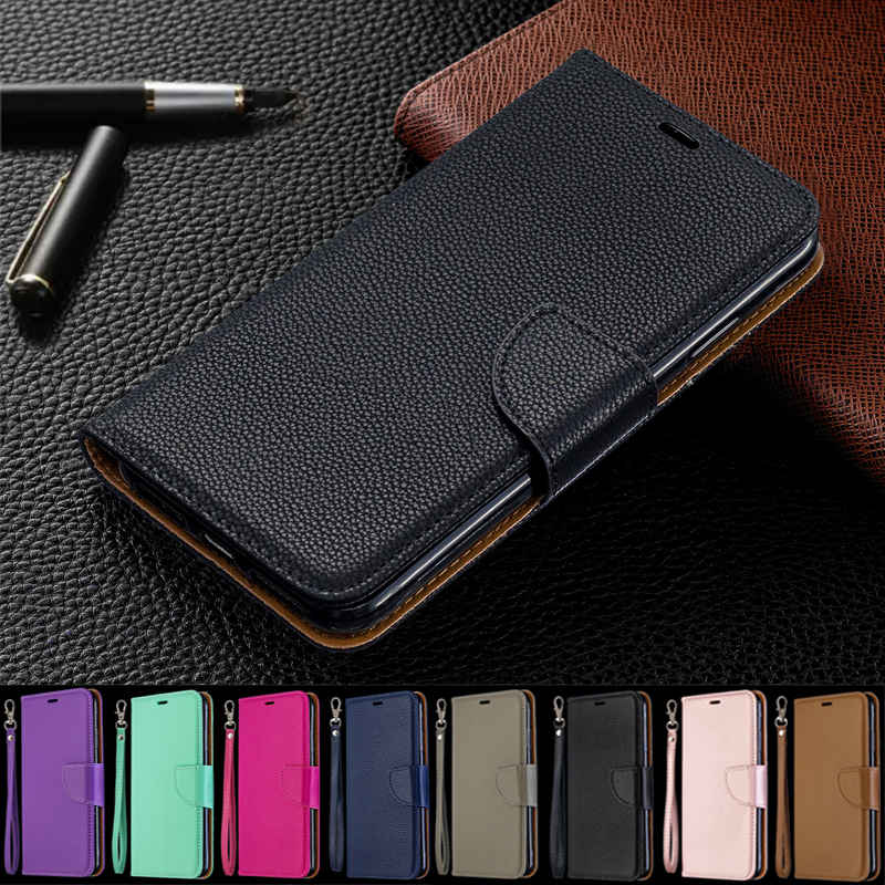 Y5(2019) Case Leather Flip Case on for Huawei Y5 2019 Coque Wallet Magnetic Cover for Huawei Y5 2019 Y 5 Prime 2018 Phone Cases-in Flip Cases from Cellphones & Telecommunications