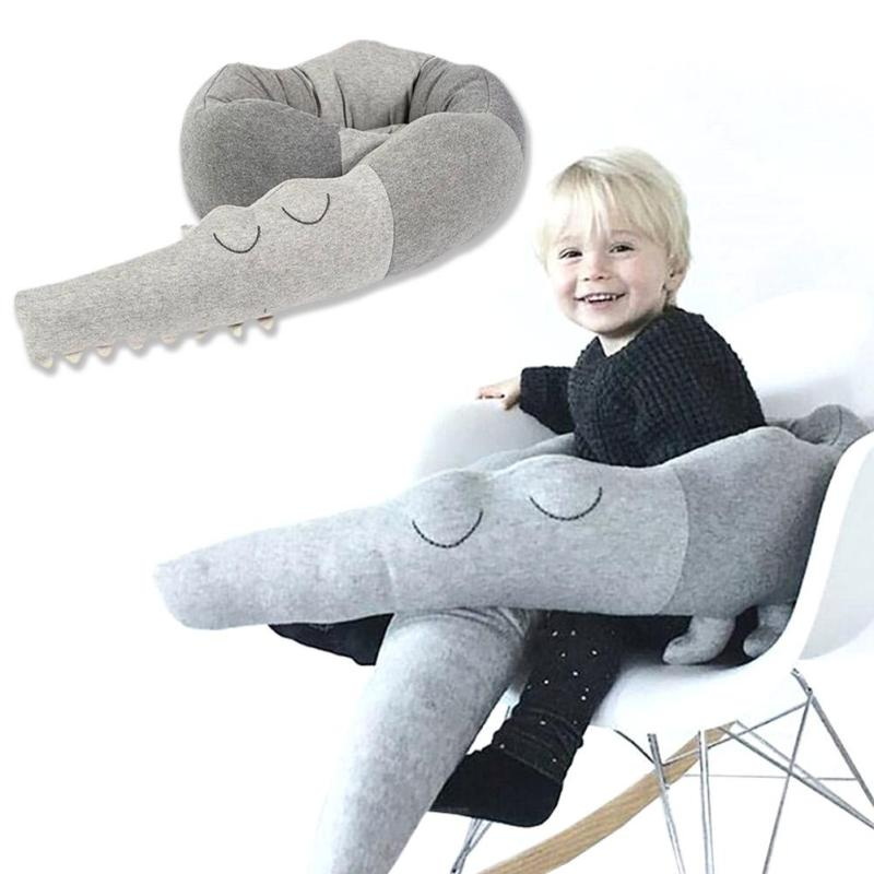 Children Pillow Decoration For Baby Bed Crocodile Appease Bed Around Childrens Room Pillow Toys #30