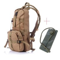 Portable Molle Tactical Hydration Backpack 2.5L Water Bag for Camping Hiking Bicycle Bladder Bag Survival Emergency Military