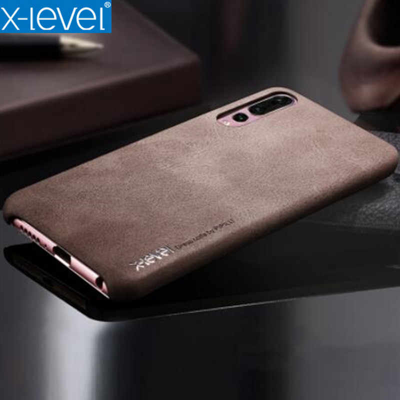 differently 51953 a6738 P30 Pro Case X-level Vintage Phone Case For Huawei P30 P20 Lite Case Ultral  Thin Back Cover For Coque Huawei P20 20 Pro Case