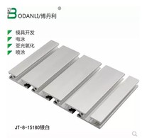 15180 aluminum extrusion profile wall thickness 2.2mm groove width 8mm length 250mm industrial aluminum profile workbench 1pcs